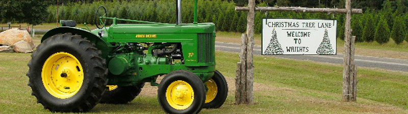 Picture of Wright's Tree Farm tractor